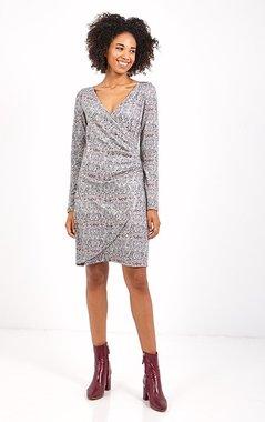 Smash AVELINA Dámské šaty šedé (A1982588)