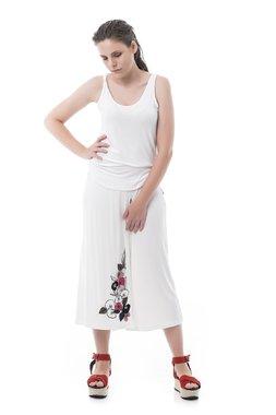 Mamatayoe Aléria Dámské kalhoty bílé