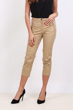 Ryujee ALINE Dámské kalhoty 3/4 délky světle hnědé