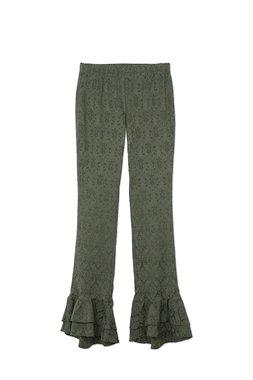 Nekane ANNETTA.JB - Dámské kalhoty tmavě zelená
