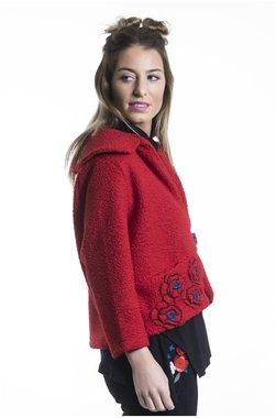 Mamatayoe Breeze Dámská bunda červená