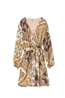 Nekane CABARET.RP Dámské šaty hnědé