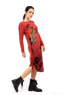 Mamatayoe CherryBlosson Dámské šaty  ONE COLOUR mix barev barev