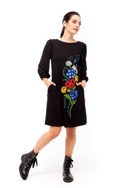Mamatayoe Chevrefeuille Dámské šaty  ONE COLOUR mix barev barev
