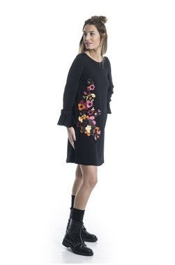 Mamatayoe Delorina Dámské šaty černá