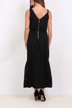 Ryujee DELPHINE Dámské šaty černé