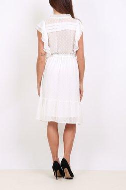 Ryujee DUNE Dámské šaty bílé
