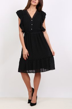 Ryujee DUNE Dámské šaty černé