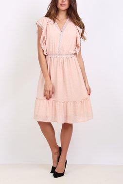 Ryujee DUNE Dámské šaty růžové