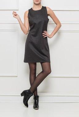 Ryujee DYN-712 šaty šedé s proužkem
