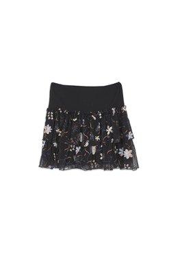 Nekane ENORA.TU - Dámská sukně černá jedna velikost