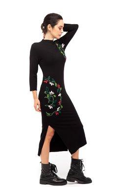 Mamatayoe Giacinto Dámské šaty  ONE COLOUR mix barev barev