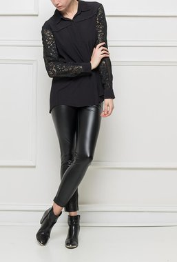 Ryujee HERVELINE košile černá