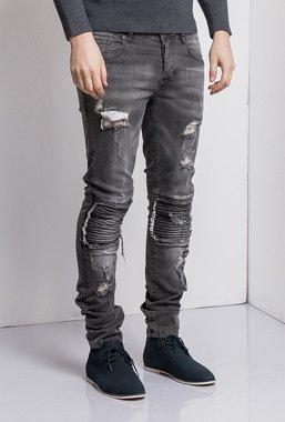Ryujee JOHN kalhoty šedá