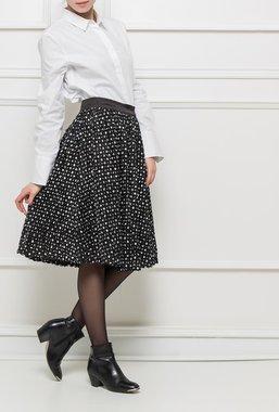 Ryujee KAREEN sukně černá se vzorem