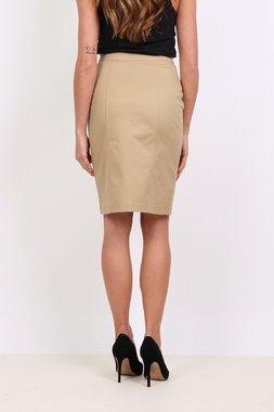 Ryujee KRAP Dámská sukně světle hnědá