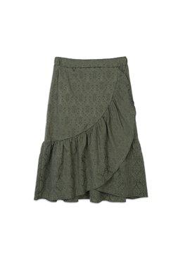 Nekane LERY.JB - Chlorophyll216 Dámská sukně tmavě zelená