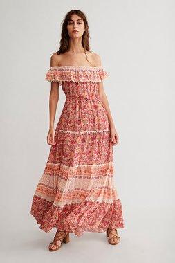 Nekane MADA Dámské šaty 0267 cherry tmavě červená