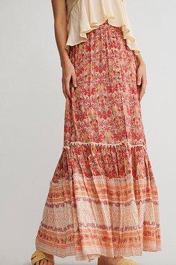 Nekane MAKWA Dámská sukně 0267 cherry tmavě červená