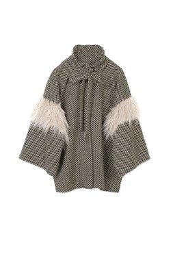 Nekane NICOLA.PA - Dámský kabátek hnědý