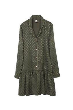 Nekane NOMI.RH - Dámské šaty tmavě zelené