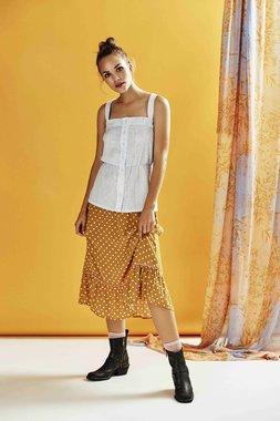 Nümph 7319110 LEXY Dámská sukně žlutá