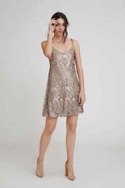 Nekane RUEDA.BP Dámské šaty šedé