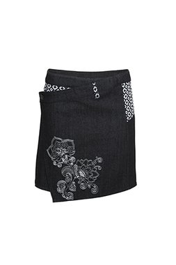 Smash POLIN Dámská krátká sukně černá