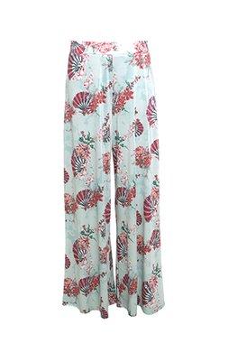 Smash LITSA Dámské kalhoty modré se vzorem
