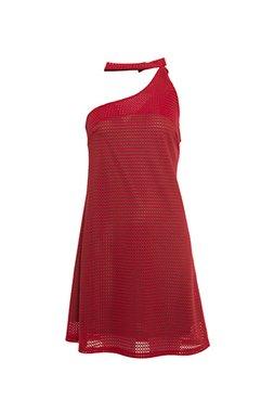 Smash MISTICA Dámské krátké šaty červené