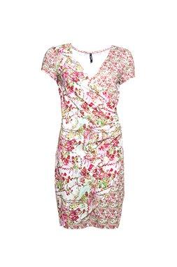 Smash AVELINA Dámské krátké šaty růžové