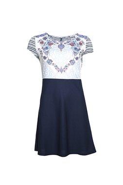 Smash ONEIDA Dámské šaty tmavě modré