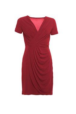 a00ca80d2b9 Smash OKAINA Dámské krátké šaty červené