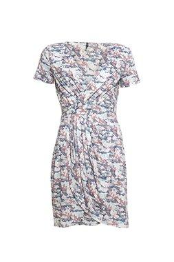 Smash OKAINA Dámské krátké šaty růžové