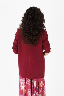 Smash REBECCA Dámská kabátek tmavě červený