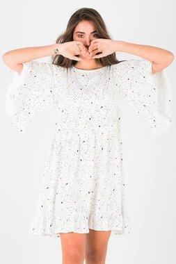 Smash HEATHER Dámské šaty bílé