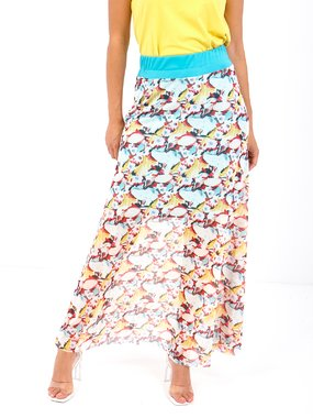 Smash TRIBU Dámská sukně modrá