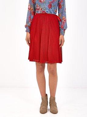 Smash TILIA Dámská sukně tmavě červená