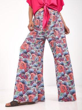 Smash FASNA Dámské kalhoty růžové