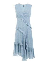 Smash WALAPAI Dámské šaty modré