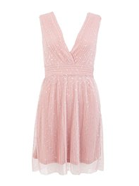 Smash UVAS Dámské šaty růžové
