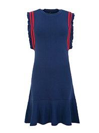 Smash OSITOS Dámské šaty modré