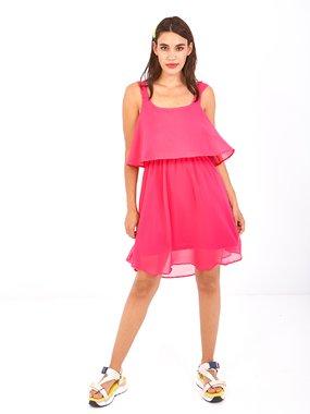 Smash TOMEA Dámské šaty růžové
