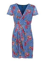 Smash OKAINA Dámské šaty modré