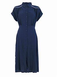 Smash PASSU Dámské šaty tmavě modré