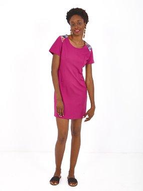 Smash GENISTA Dámské šaty růžové