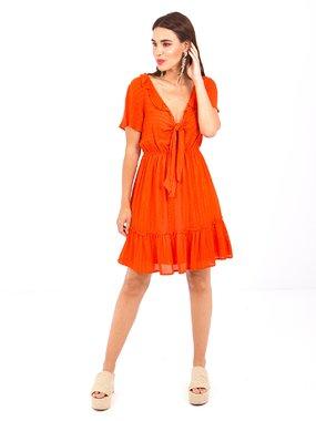 Smash PROSE Dámské šaty oranžové