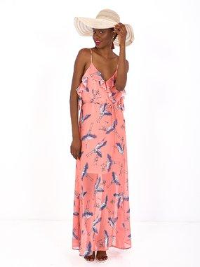 Smash JACQUELINE Dámské šaty růžové