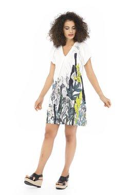 Mamatayoe SANTA Dámské šaty  ONE COLOUR mix barev barev