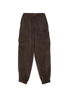 Nekane SENSUEL.RL Dámské kalhoty tmavě zelené